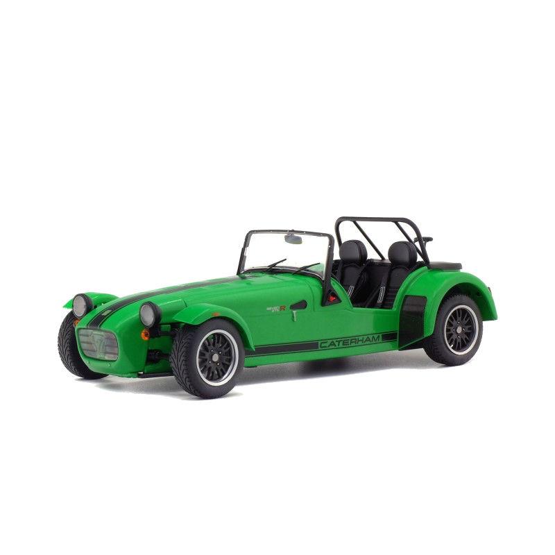 Macheta auto Caterham 275R verde 2014, 1:18 Solido