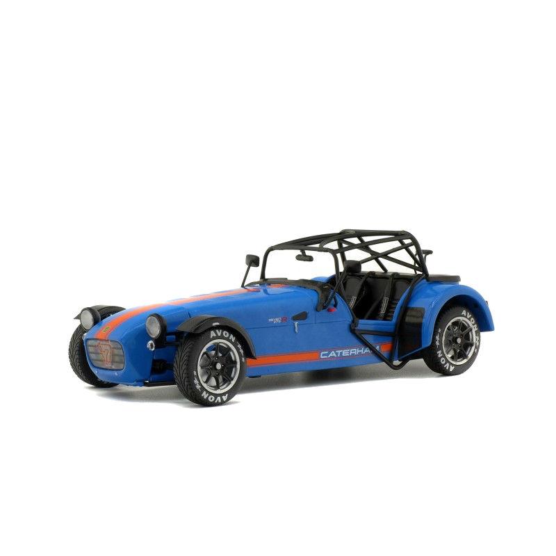 Macheta auto Caterham 275R albastru 2014, 1:18 Solido