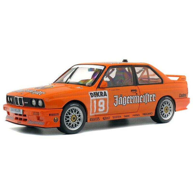 Macheta auto BMW E30 DTM Jagermaester - Hahne 1992, 1:18 Solido