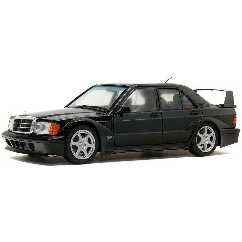 Macheta auto Mercedes Benz 190E EVO 2 negru 1990, 1:18 Solido