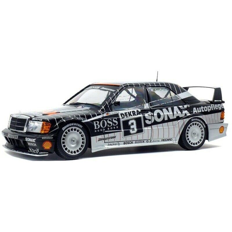 Macheta auto Mercedes Benz 190E EVO 2 DTM Sonax 1992, 1:18 Solido