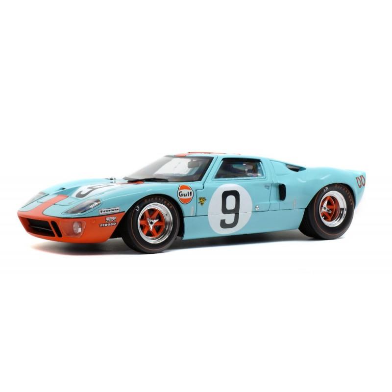 Macheta auto Ford GT40 MK1 24h Le Mans #9, 1968, 1:18 Solido