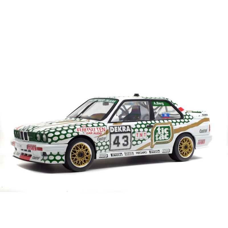 Macheta auto BMW E30 M3 - DTM 1991 – A.BERG, 1:18 Solido