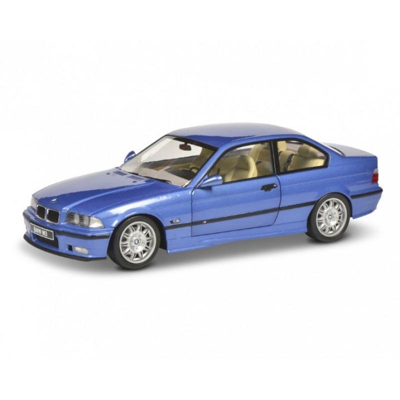 Macheta auto BMW E36 Coupe M3 1990 albastru, 1:18 Solido