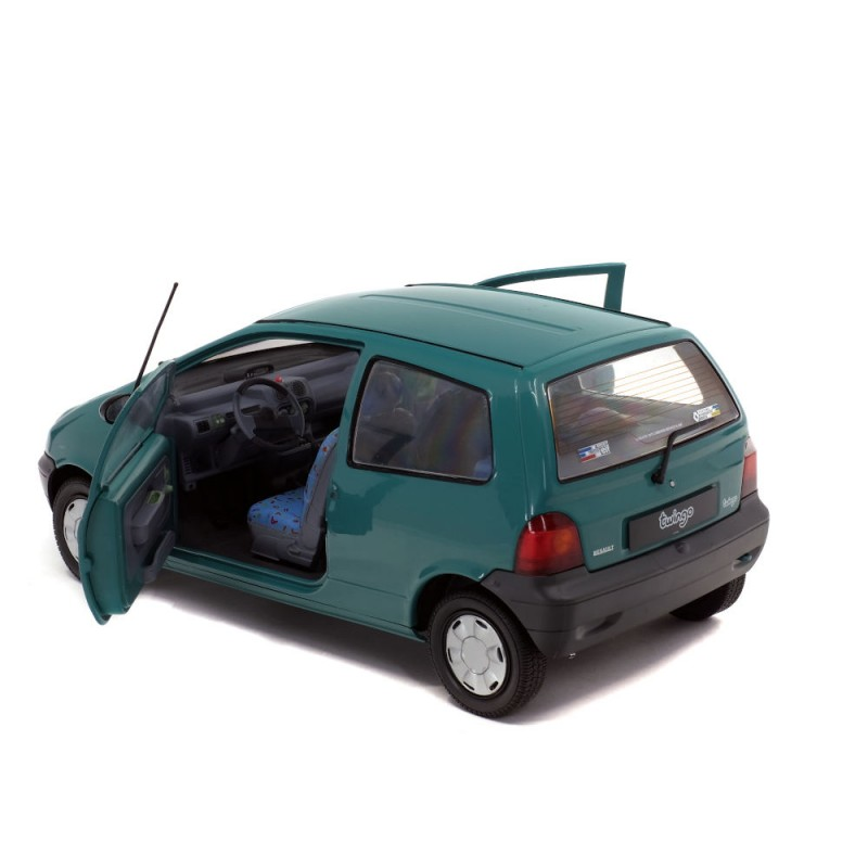 Macheta auto Renault Twingo MK1 1993 verde, 1:18 Solido