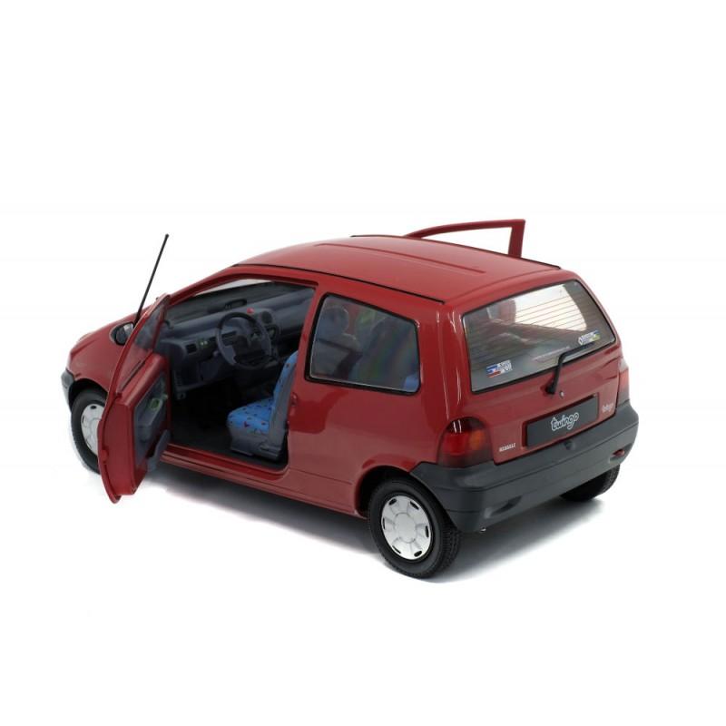 Macheta auto Renault Twingo MK1 1993 rosu, 1:18 Solido