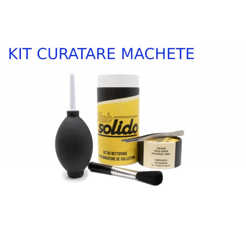 Accesorii: KIT pentru Curatat machete auto - CLUB SOLIDO