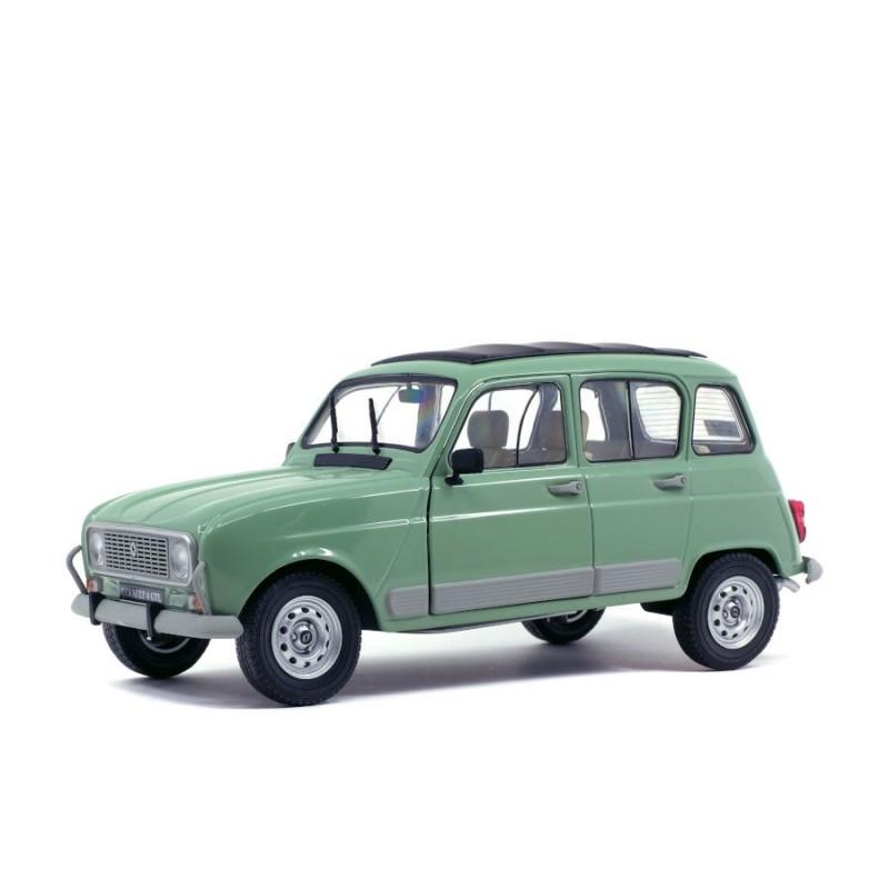 Macheta auto Renault 4L GTL verde 1978, 1:18 Solido