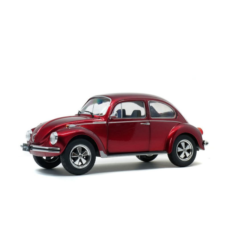 Macheta auto Volkswagen Beetle 1303 rosu 1974, 1:18 Solido