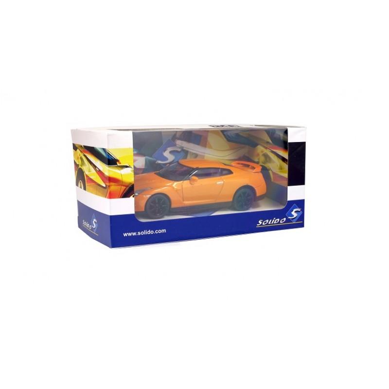 Macheta auto Nissan GT-R, 1:43 Solido