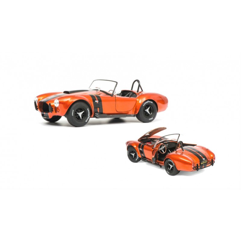 Macheta auto AC Cobra 427 Mk II 1965 orange, 1:18 Solido