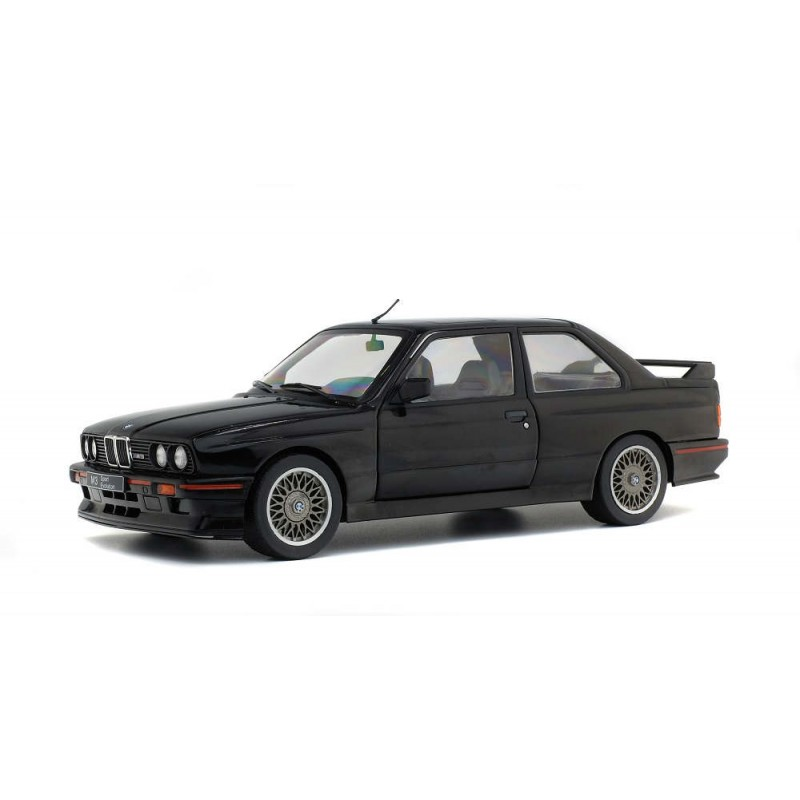Macheta auto BMW M3 E30 Sport Evo 1990 negru, 1:18 Solido - Rezervare