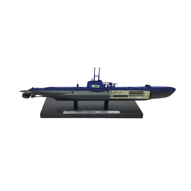 Macheta nava submarin HMS Safari 1943, 1:350 Atlas