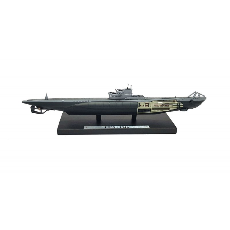 Macheta nava submarin U255 1944, 1:350 Atlas