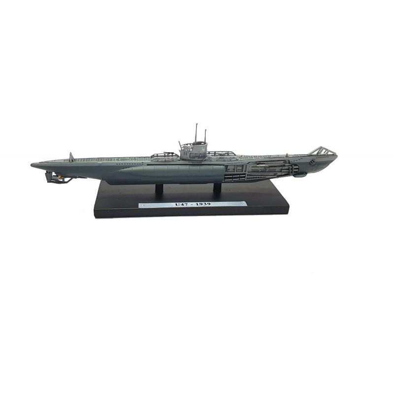 Macheta nava submarin U47 1939, 1:350 Atlas