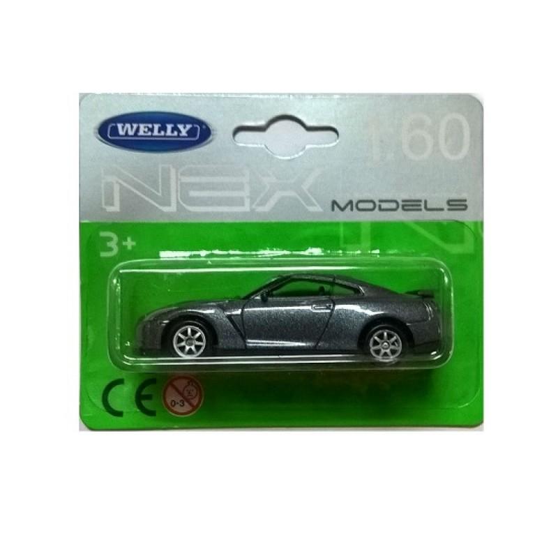 Macheta auto Nissan GT-R, 1:60 Welly
