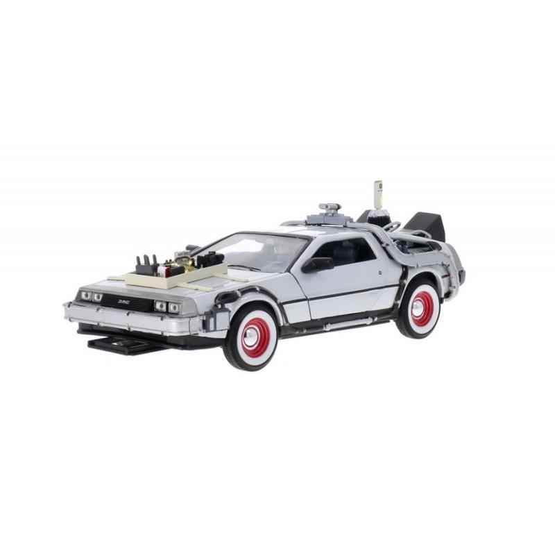 Macheta auto DeLorean Back to the Future III, 1:24 Welly