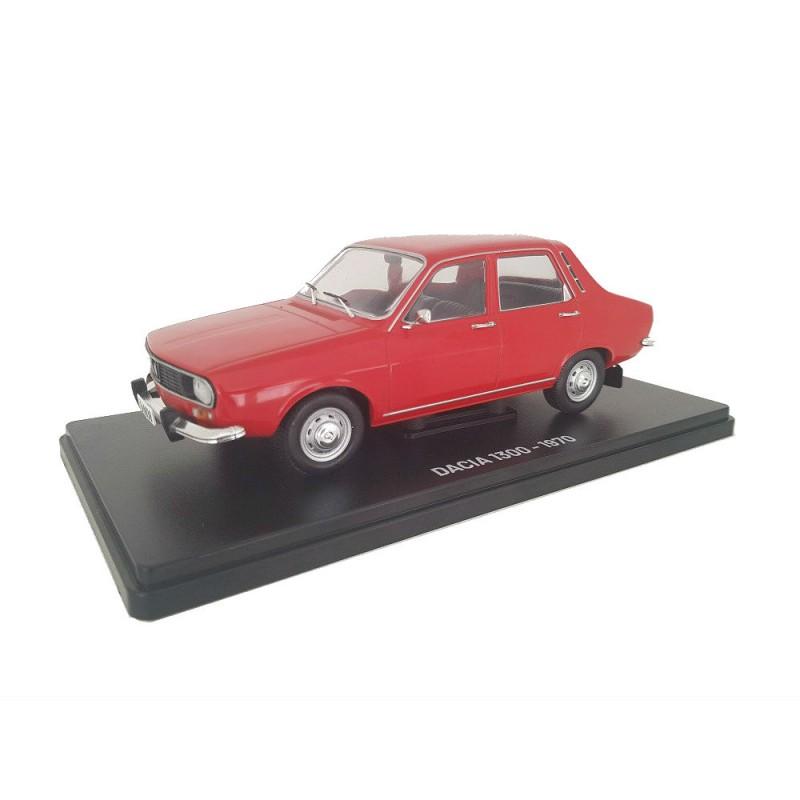 Macheta auto Dacia 1300 1970 Nr 1 - Automobile de neuitat, 1:24 Hachette