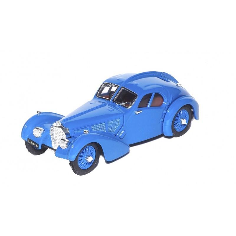 Macheta auto Bugatti 57SC Atlantic 1938, 1:43 Atlas