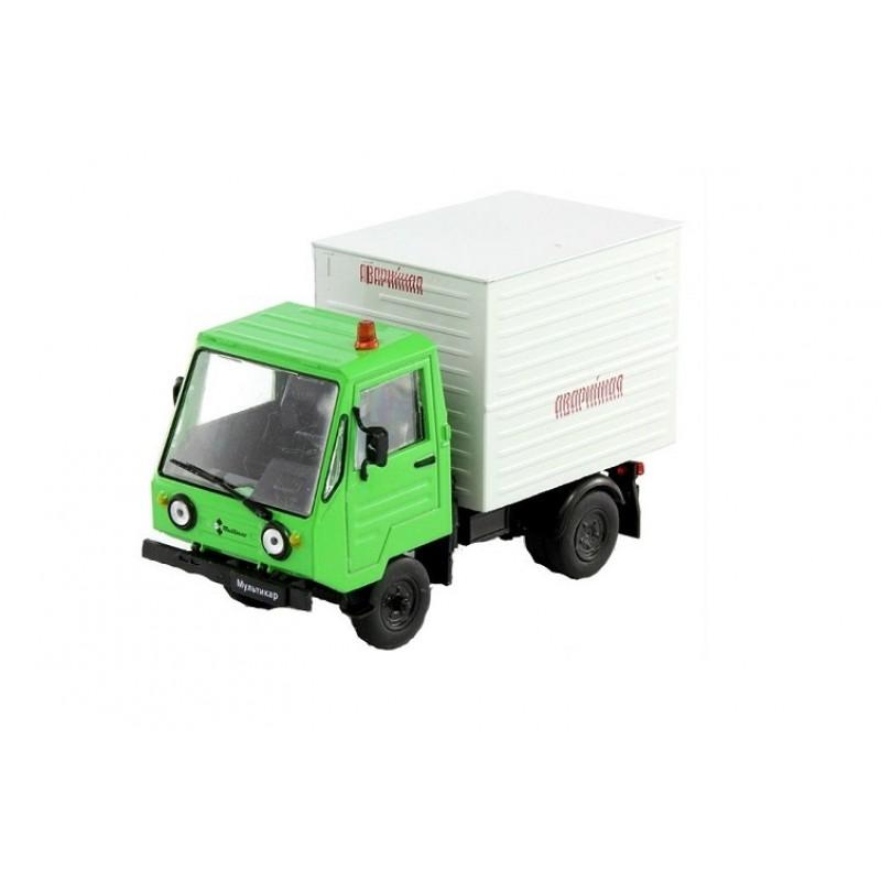 Macheta auto Multicar 25 Service, 1:43 Deagostini/IST