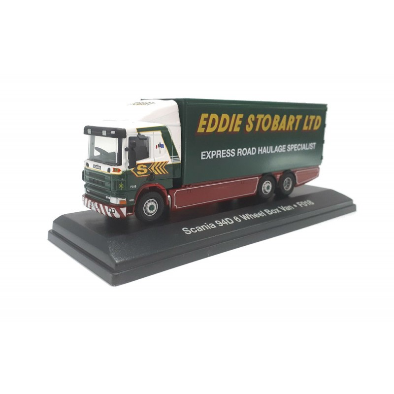 Macheta camion Scania 94D F018 Stobart 1:76 Oxford - Atlas