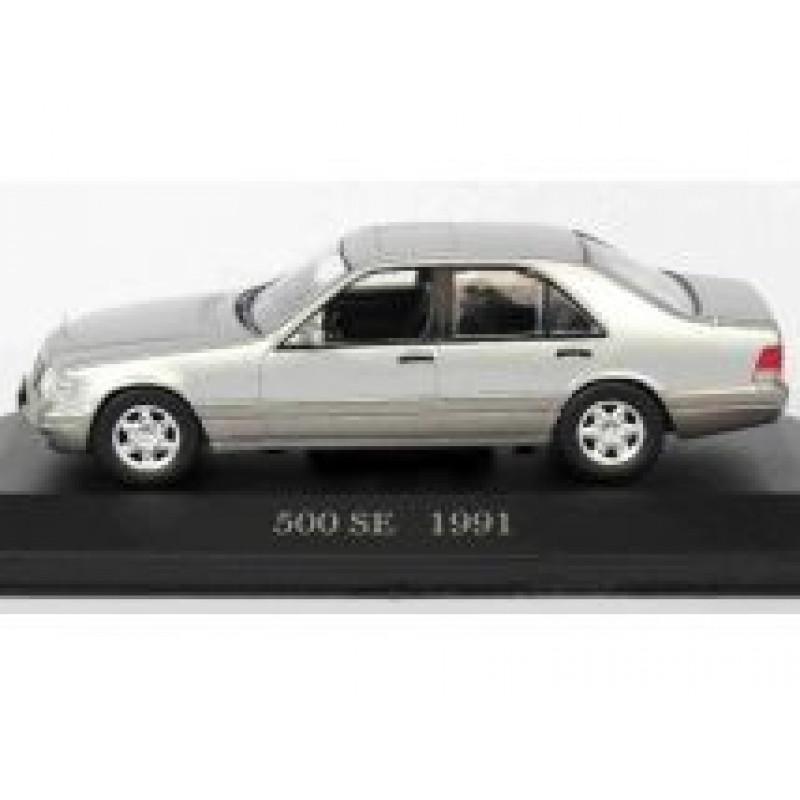 Macheta auto Mercedes Benz S-Class 500SE W140 1991, 1:43 Altaya/Ixo