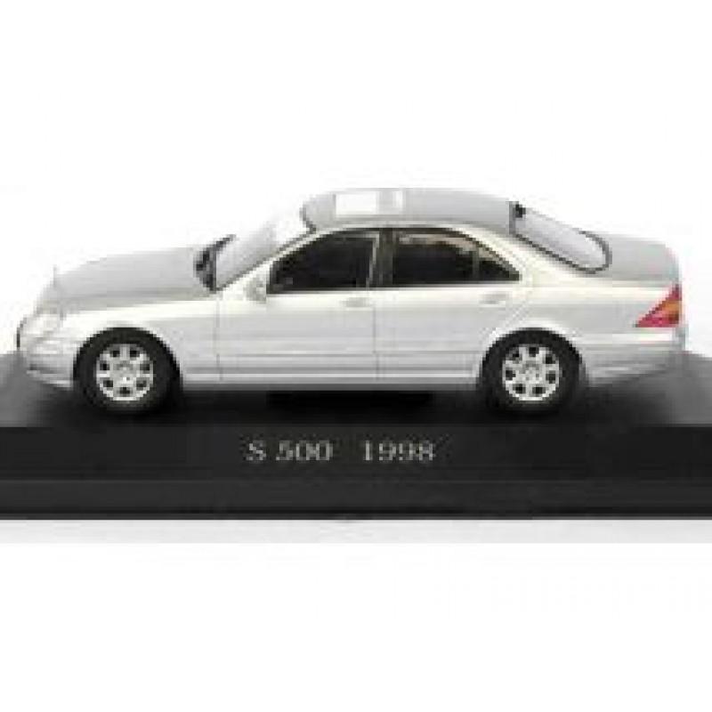 Macheta auto Mercedes Benz S-Class S500 W220 1998, 1:43 Altaya/Ixo