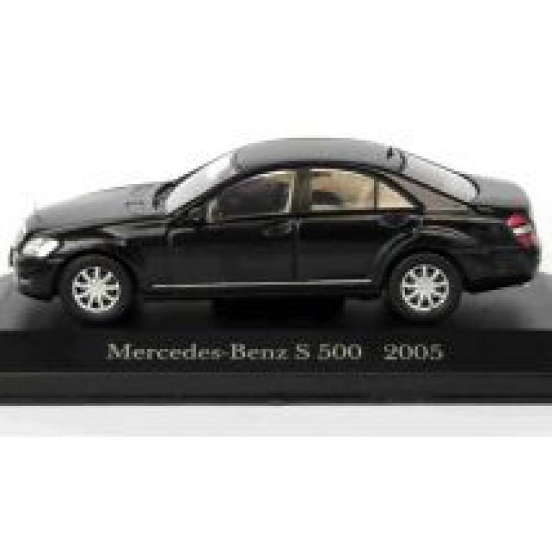 Macheta auto Mercedes Benz S-Class 500 W221 2005, 1:43 Altaya/Ixo