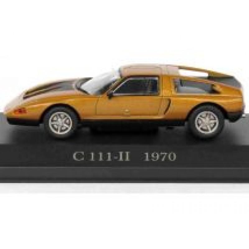 Macheta auto Mercedes Benz C111-II 1970, 1:43 Altaya/Ixo