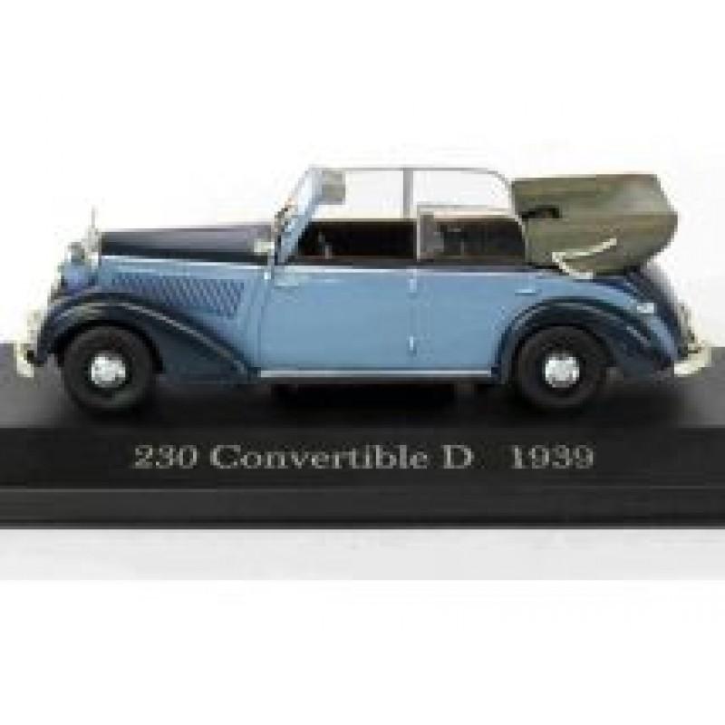 Macheta auto Mercedes Benz 230 Convertible D W153 1939, 1:43 Altaya/Ixo