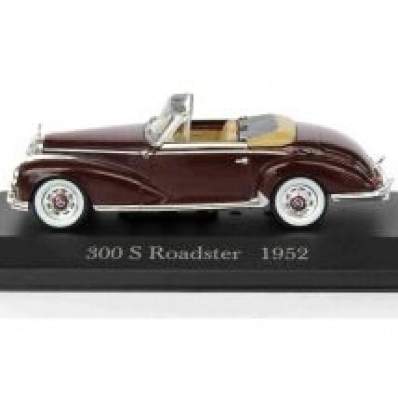 Macheta auto Mercedes Benz 300S Roadster W188 1952, 1:43 Altaya/Ixo
