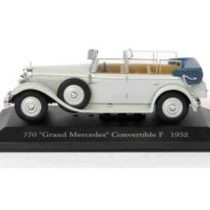 Macheta auto Mercedes Benz 770 Gran Mercedes Convertible F W07 1932, 1:43 Altaya/Ixo