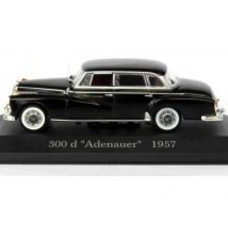 Macheta auto Mercedes Benz 300D Limousine Adenauer W189 1957, 1:43 Altaya/Ixo