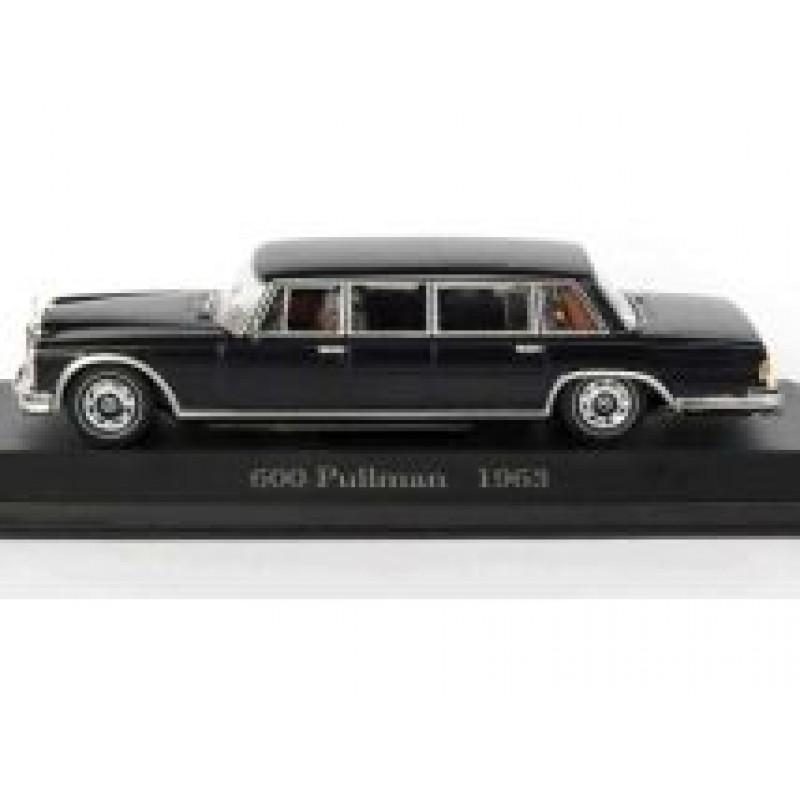 Macheta auto Mercedes Benz 600 PULLMAN W100 1963, 1:43 Altaya/Ixo