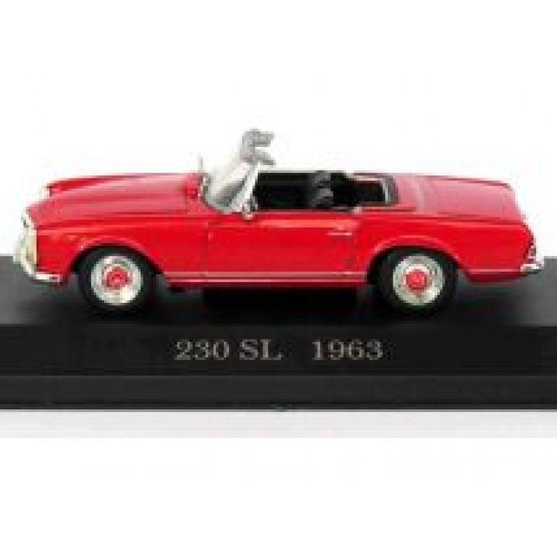 Macheta auto Mercedes Benz 230SL Roadster W113 1963, 1:43 Altaya/Ixo