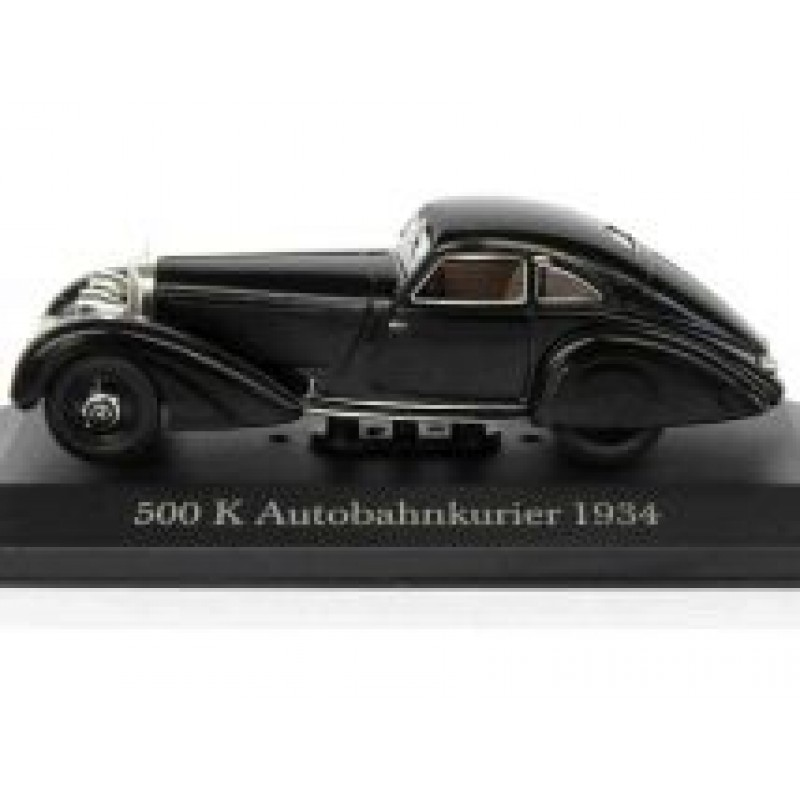 Macheta auto Mercedes Benz 500K Autobahnkurier W29 1934, 1:43 Altaya/Ixo