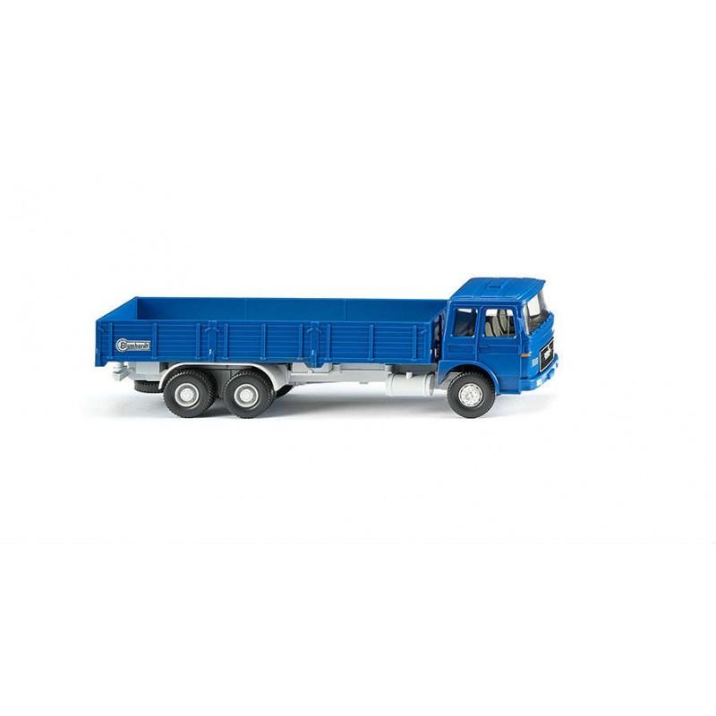 Macheta Camion MAN bena lunga Blumhardt 1967, 1:87 Wiking