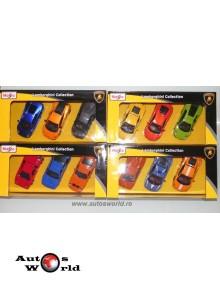 Lamborghini Collection - set 12 buc., 1:43 Maisto