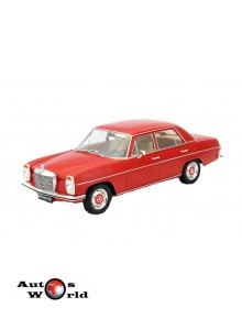 Macheta auto Mercedes Benz 220/8 (W115) red, Sealed, 1:18 MCG