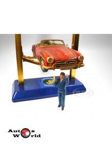 Figurina mecanic John, 1:18 American Diorama