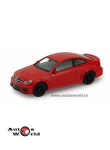 Mercedes Benz C63 AMG Coupe, 1:36 Welly