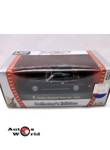 Pontiac Firebird trans am negru, 1:43 Yatming