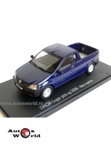 Dacia Logan Pick-Up bleu marine, 1:43 Eligor