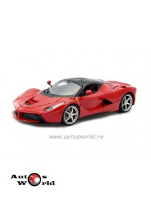 Ferrari LaFerrari rosu, 1:18 Bburago Signature
