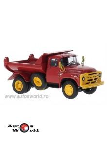 Camion ZIL MMZ 555 cu bena rabatabila, rosu, 1:43 Auto Historia