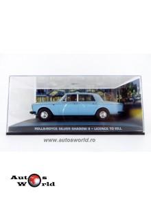 Rolls Royce Silver Shadow II bleu James Bond, 1:43 Eaglemoss