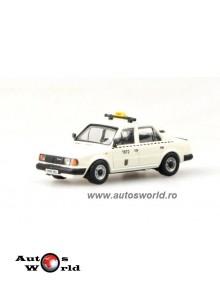 Skoda 120L Taxi alb, 1:72 Abrex
