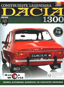 Macheta auto Dacia 1300 KIT Nr.26 - elemente panou portbagaj, scara 1:8 Eaglemoss