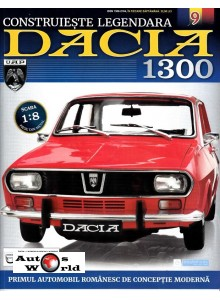 Macheta auto Dacia 1300 KIT Nr.9 - lonjeron stanga fata, scara 1:8 Eaglemoss