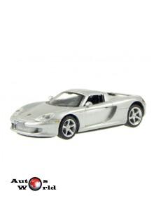 Macheta auto Porsche Carerra GT gri, 1:72 Cararama